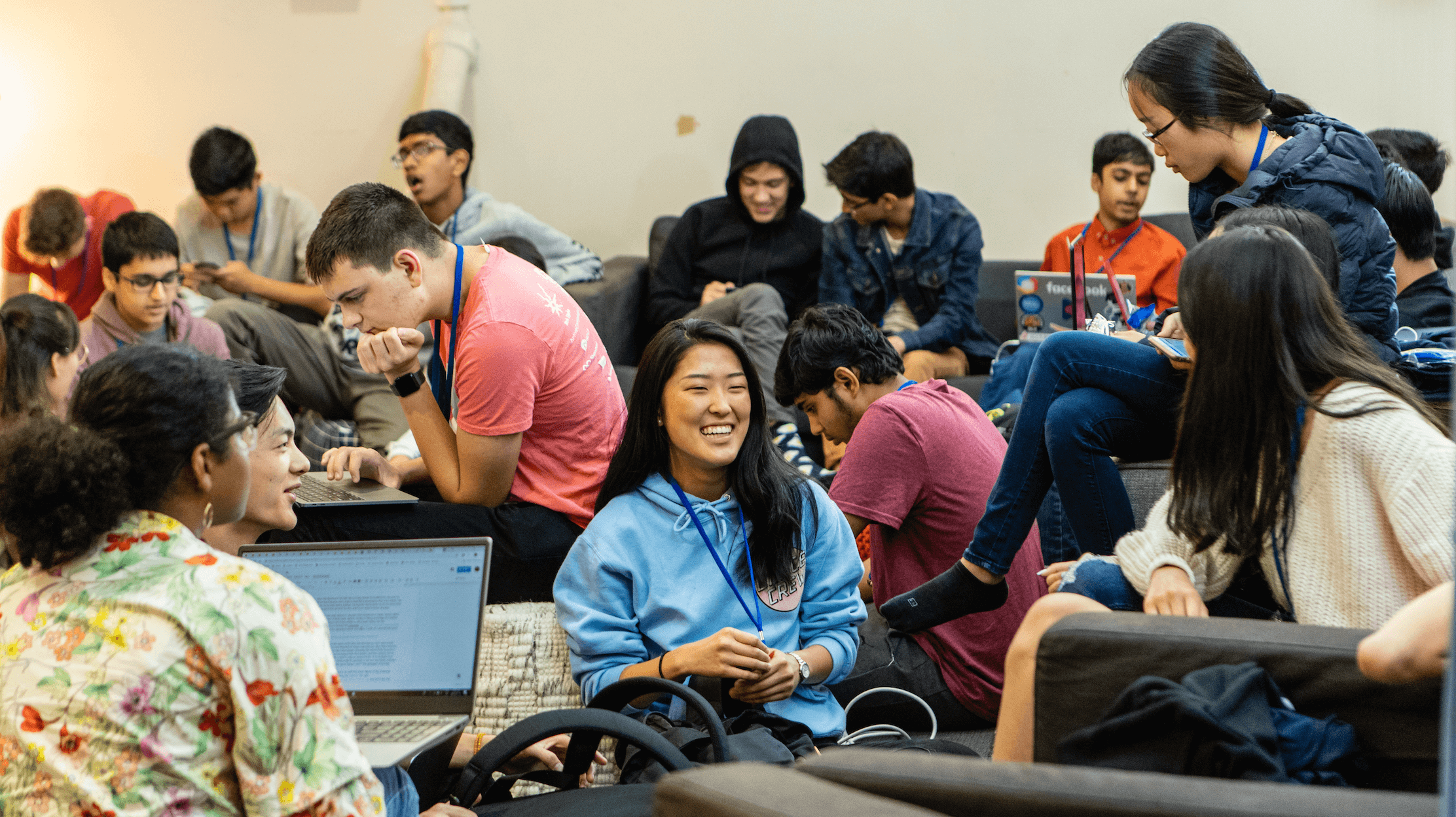 Hack Clubbers gather at the Flagship 2019 conference